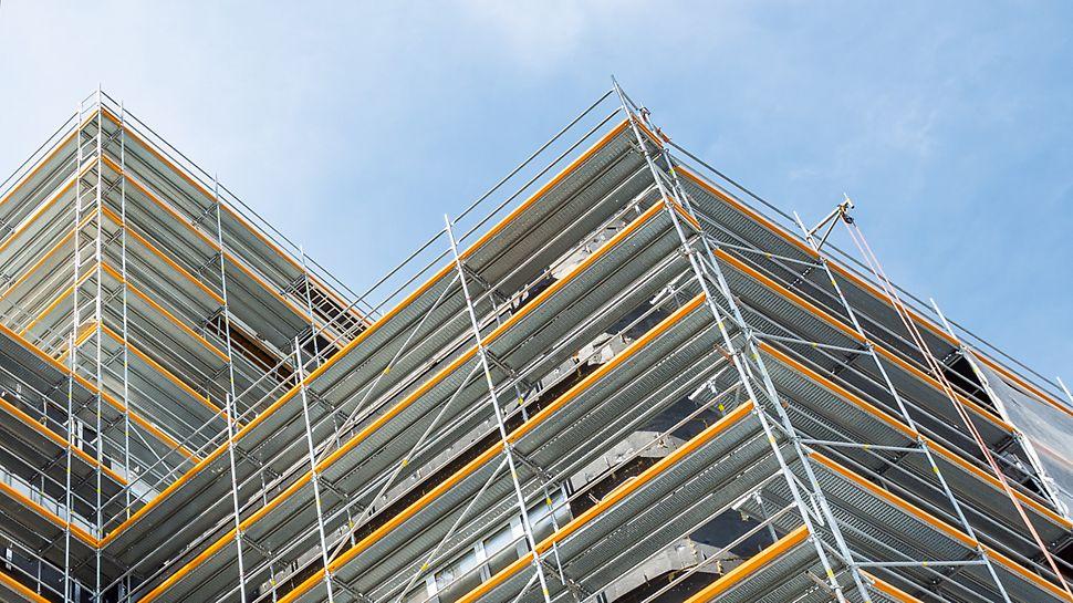 PERI UP Easy - следваща генерация система фасадно скеле