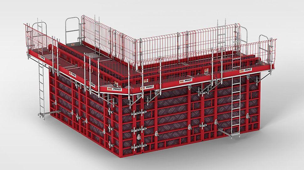 MXK Konsolsystem: Den modulbaserade designen och lätta, manuellt monterade systemkomponenter säkerställer snabb installation och en hög kostnadseffektivitet