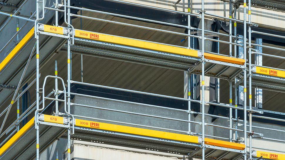 Narożnik PERI UP Easy bez dodatkowego słupka to sprawny montaż i użytkowanie z gwarancją pełnego bezpieczeństwa tego systemu.