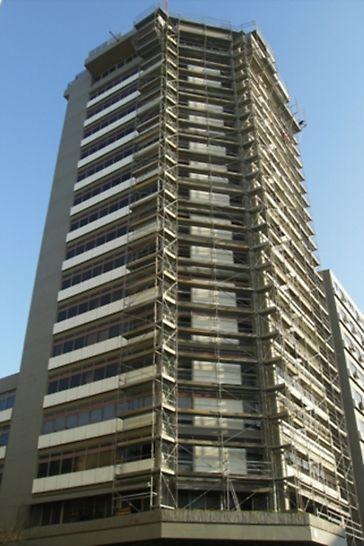 Edifício na Avenida da República - Perspectiva geral da obra
