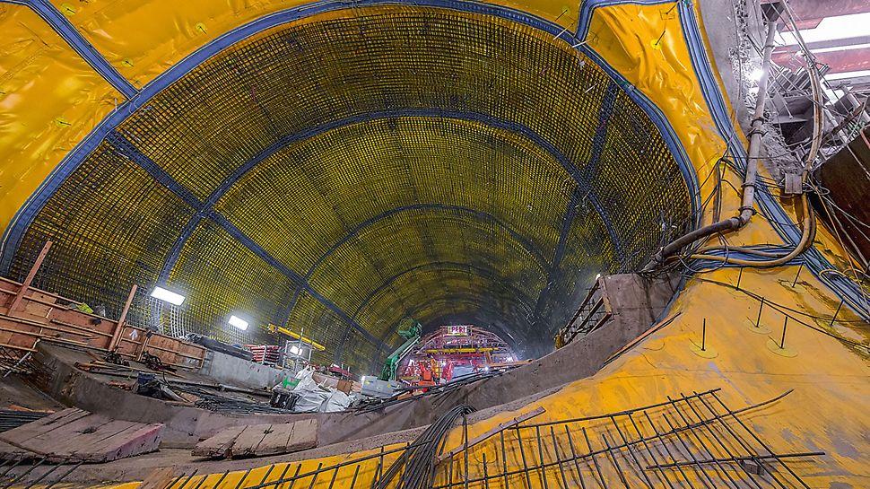 Die Höhle in Form eines Eies misst 15 m im Durchmesser und liegt bis zu 30 m tief unter dem Stadtzentrum von San Francisco.