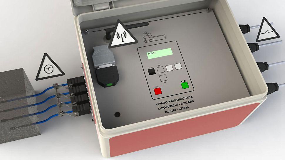 Der Computer ist einfach zu installieren und die Bedienung läuft anhand von logischen Fragen im Display ab.