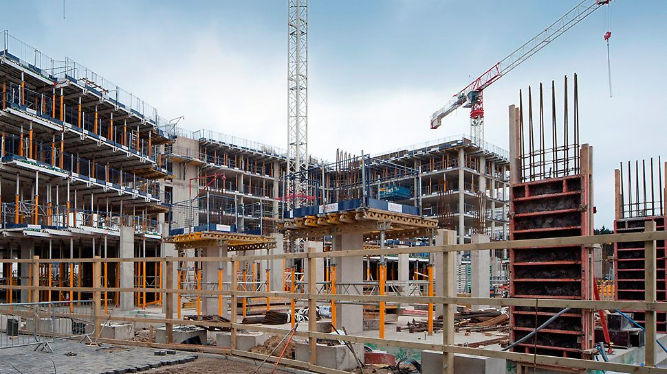 SKYDECK from PERI is the slab formwork system that is erected from below
