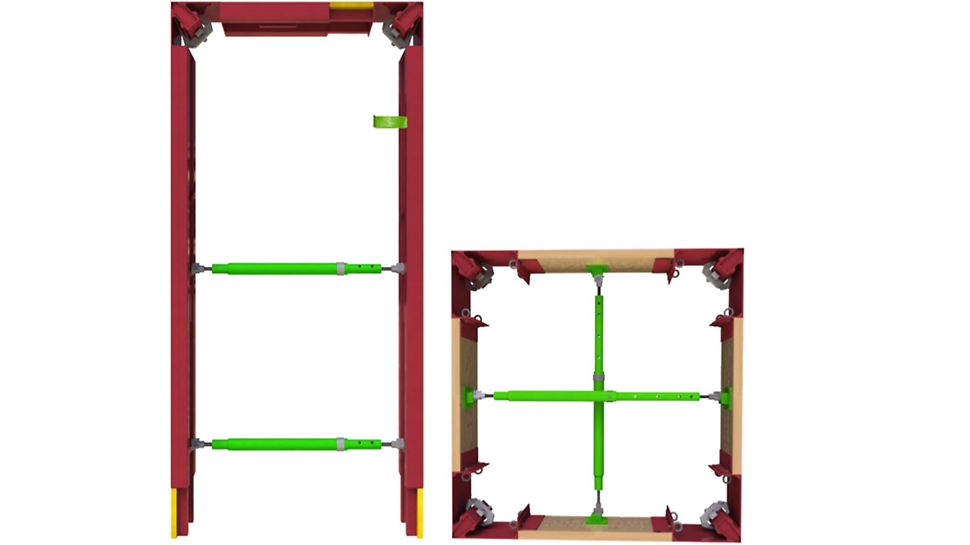 Door and VARIO box-out formwork