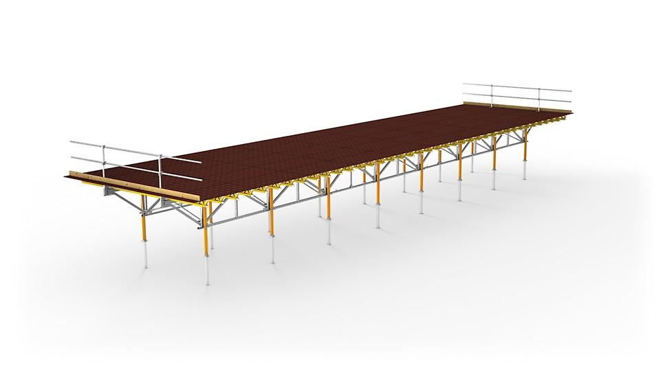 SKYTABLE — столы площадью до 150 м² для опалубливания перекрытий.