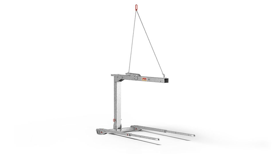 For the moving of slab tables with a length of up to 6.0 m