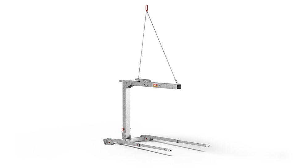 Für das Umsetzen von Deckentischen bis zu einer Länge von 6,0 m
