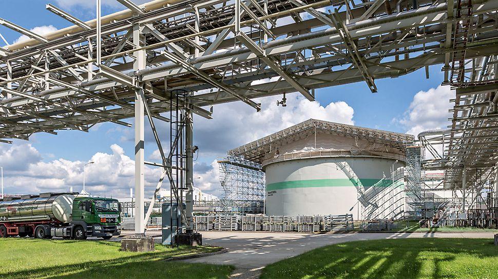 Rundbehältersanierung, Chemiepark Bitterfeld-Wolfen
