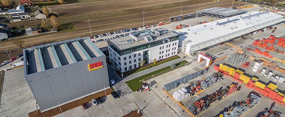 Zmodernizowane Centrum Logistyczne i Szkoleniowe PERI w Płochocinie