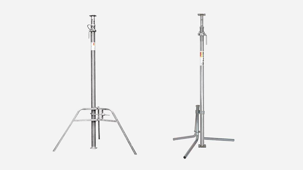 The Universal Tripods and PEP Ergo are used as assembly aids.