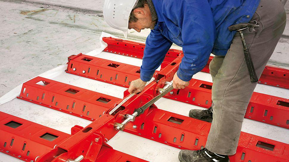 Uzina de apă Sandelermöns construită cu PERI RUNDFLEX Plus - Cu panourile sale ajustabile, RUNDFLEX Plus evită costurile de reasamblare sau modificări speciale ale cofrajului.