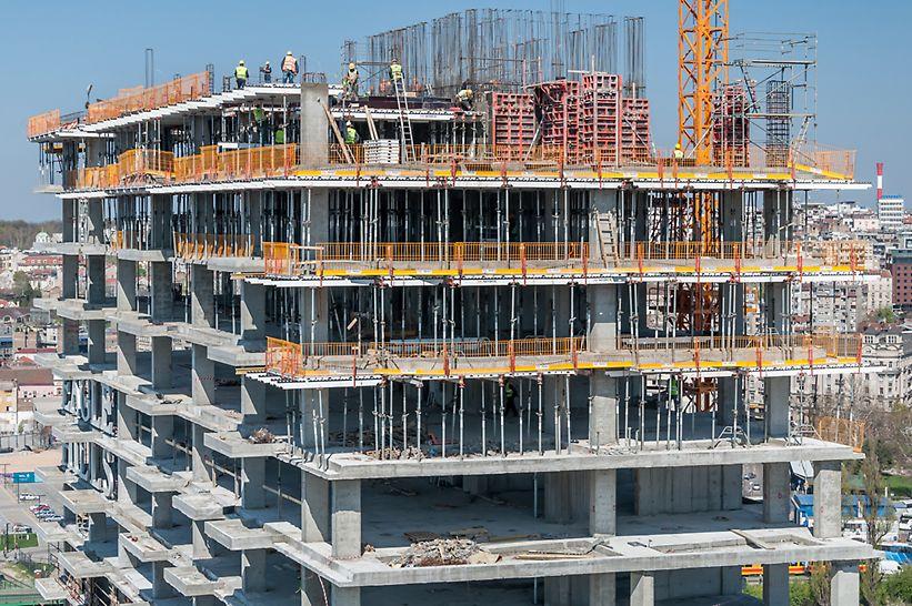 Ovo je prva u nizu stambenih zgrada koje će biti izgrađene u okviru Belgrade Waterfront-a, jedinstvenog građevinskog poduhvata u ovom delu Evrope.