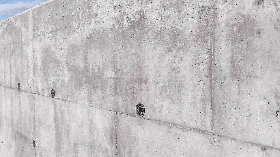 DUO est particulièrement adapté aux petites applications de génie civil qui exigent peu de surfaces.