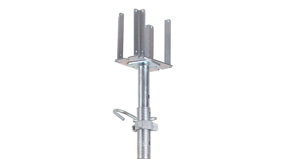 опалубка перекрытий, стойки для опалубки перекрытий, стойки для опалубки, оцинкованные стойки, g-образный крюк, треноги для стоек, комплектующие для опалубки перекрытий