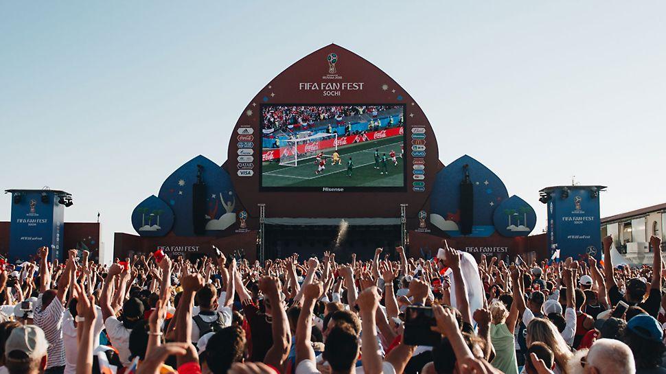 фанзона, фестиваль фанатов, FIFA, чемпионат мира по футболу, мундиаль