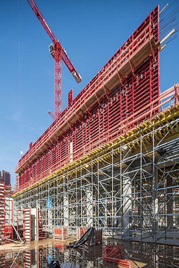 """Městský zámek """"Humboldt-Forum"""", Berlín: Projekt a dodávky bednění a lešení vytvořily synergické účinky pro všechny osoby zodpovědné za průběh stavby."""