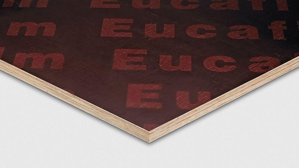 Eukalyptus støbefinér er billig og kan bruges til betonopgaver med lave krav til overfladen