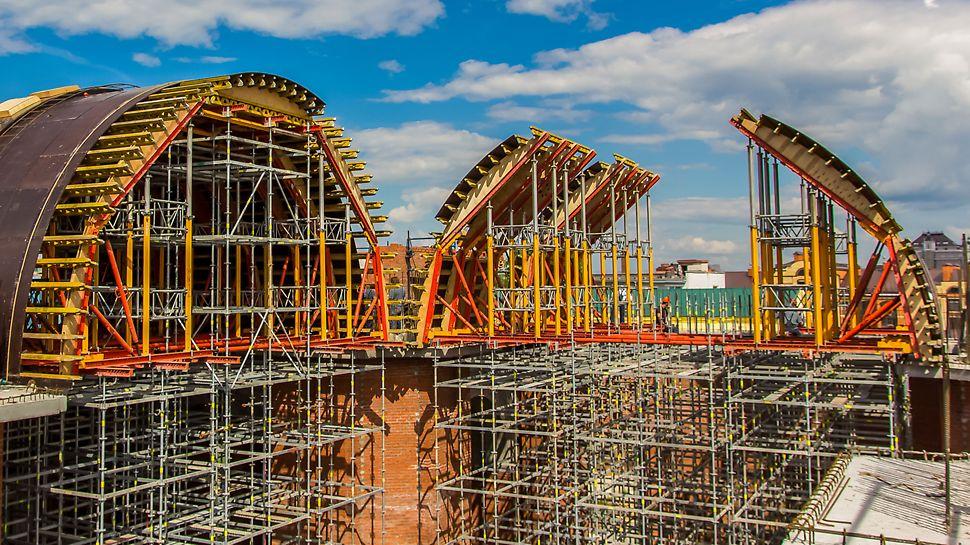 фото Собор Казанской иконы Божией матери Реконструкция собора в Казани опалубка peri пери