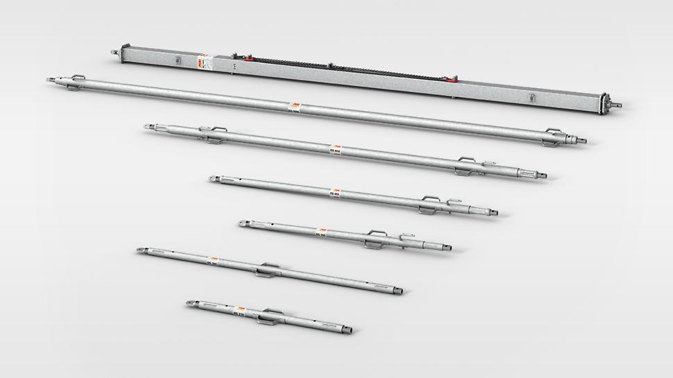 PERI Elementstøtteprogram med længder op til 14 meter