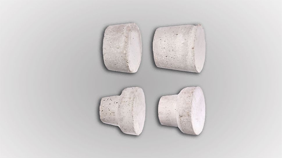 Korek betonowy DK DW 15-58/30 - do zamykania wnęk po stożkach uszczelniających DK DW 15/35.