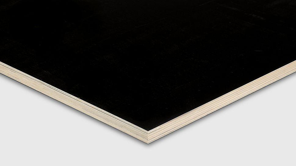 Die Maxiform Pappel ist eine großformatige Schalungsplatte mit durchgehendem Pappelfurnieraufbau.