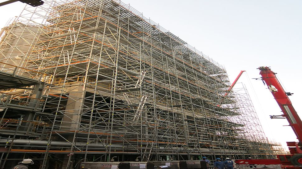PERI UP scaffolding material