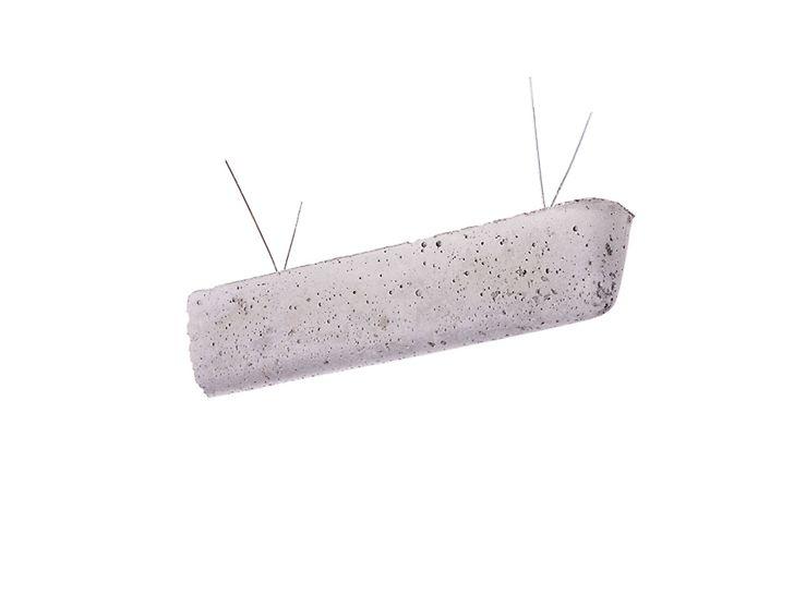 Podkładka betonowa z drutem L = 25 cm