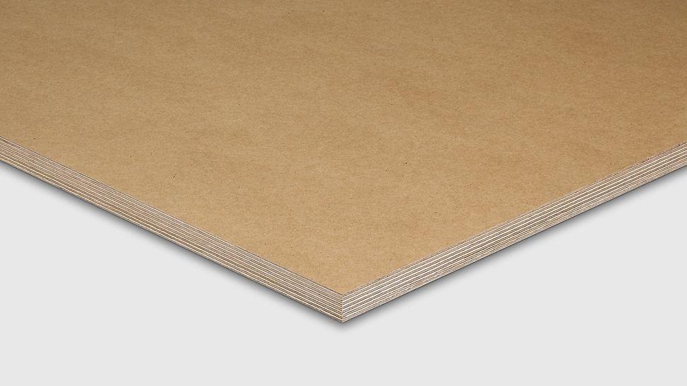 Beto-S absorberende bekistingsplaat voor matte betonoppervlaktes.