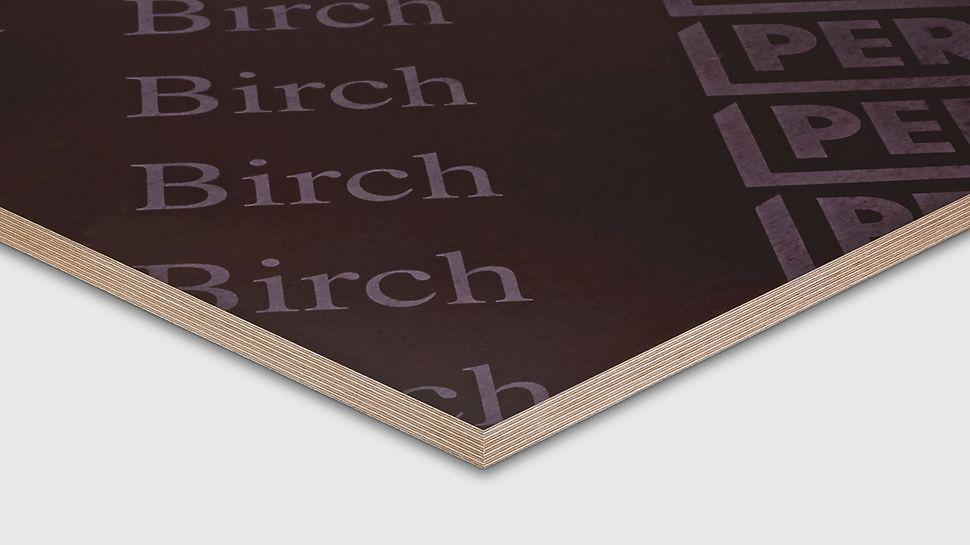 Oplatna ploča PERI Birch primjenjuje se u svim područjima zidnih i stropnih površina.