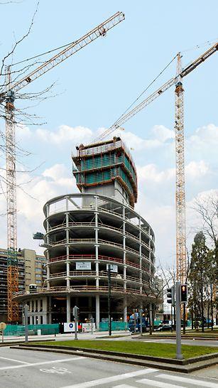 Tout le projet peut être érigé avec des systèmes standard proposés en location. De quoi largement économiser sur le budget.