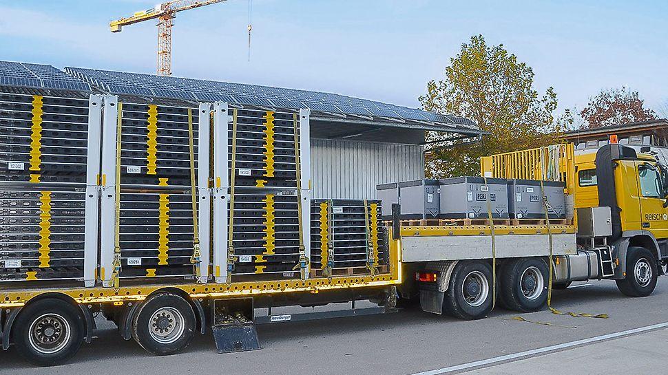 Das Bad Saulgauer Bauunternehmen Reisch erweiterte seinen Schalungsbestand mit der DUO als leichtes Handschalungssystem (Foto: Reisch).