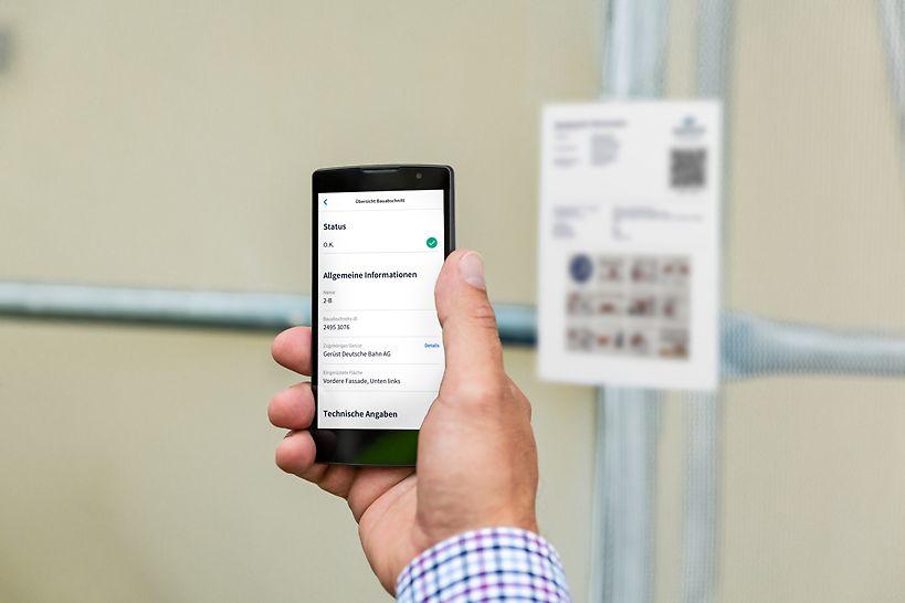 SCAFFEYE ermöglicht allen Nutzern eine unkomplizierte und digitale Sicherheitsprüfung jedes Gerüstes per Smartphone App (iOS & Android).