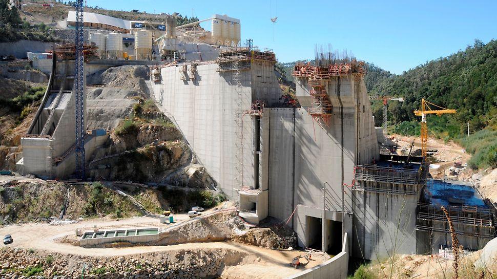 Aproveitamento Hidroeléctrico de Ribeiradio-Ermida - Vista de Montante