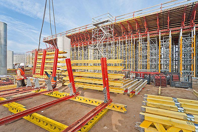 Modyfikacja wsporników w systemie VARIO w warunkach budowy
