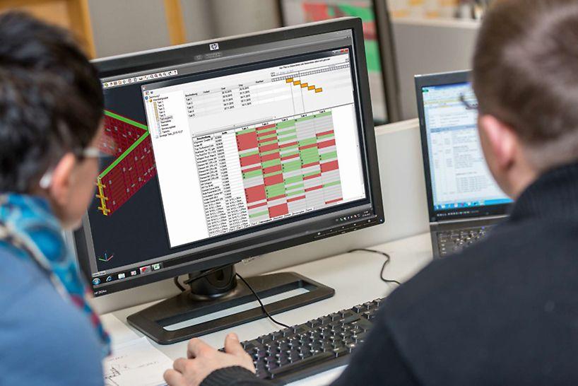A tervezés és a betonozási ütemek meghatározása után az ELPOS kiadja a maximális elemlistát. Az ügyfél saját készlete is felvihető a rendszerbe, amit a rendszer figyelembe vesz.