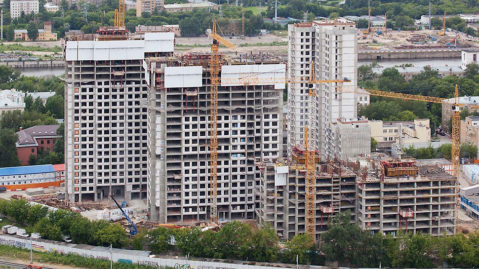 жк центр-сити, опалубка peri, опалубка купить, жилищное строительство, гражданское строительство, жилой комплекс в москве, опалубка аренда, самоподъемная опалубка