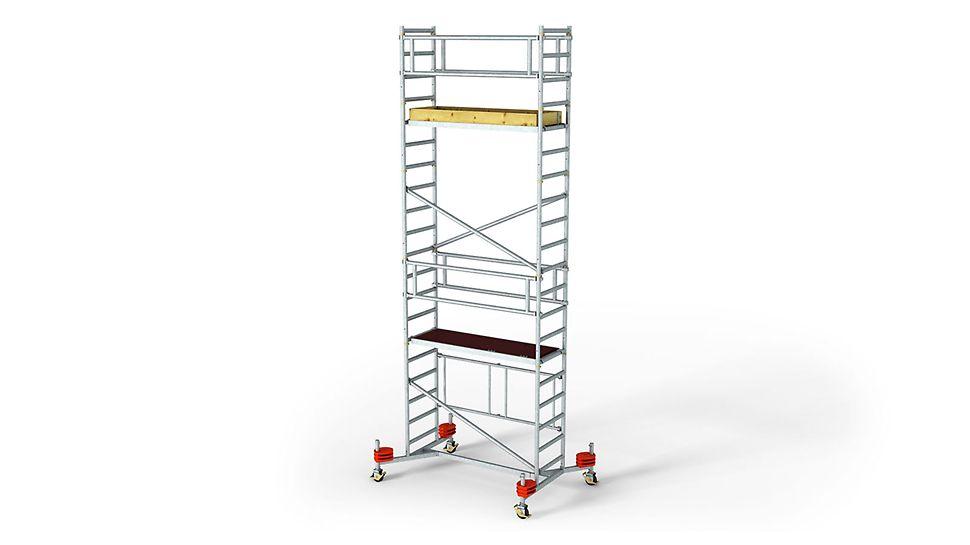 Bezbedna montaža i demontaža pomoću ASW 465 pokretne skele