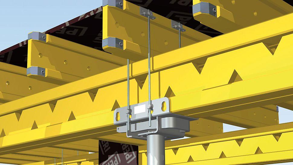 TK-pöytäpää koostuu itse pöytäpäästä sekä  asennussarjasta.