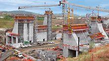 PERI ha contribuito al progetto del secolo consegnando ingenti quantità di casseforme e impalcature per l'ampliamento del canale di Panama