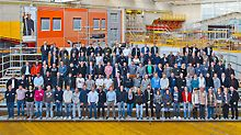 Über 100 Gerüstbauer nahmen am Technikseminar teil.