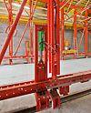 Tunel Nordhavnsvej -oplatna kolica se podižu i spuštaju na hidraulični pogon – time su obezbeđene brza i jednostavna montaža i demontaža. Nakon kratke obuke osoblje gradilišta, za samo jedan dan, prilagođava konstrukciju za betoniranje.
