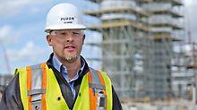 Kyle Morden, Bauleiter NWR Edmonton