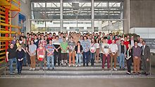 Gruppenbild der Absolventen