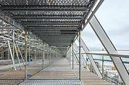 Tellingukasutajatele loodi turvalised tingimused, et saada ohutult oma töökohtadele. (Photo: PERI GmbH)