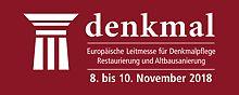 denkmal - Europäische Leitmesse für Denkmalpflege, Restaurierung und Altbausanierung vom 8. bis 10. November 2018 in Leipzig