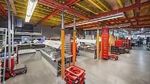 Bei Sanierungsaufgaben gilt es sehr oft, die lastabtragenden Tragkonstruktionen komplexen Randbedingungen anzupassen. Häufig kombinieren die PERI Spezialisten in solchen Fällen Standardsysteme mit Stahlbauteilen aus dem Ingenieurbaukasten VARIOKIT.
