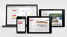 Auf der bauma 2013 stellt PERI neue, digitale Entwicklungen vor: Das PERI Handbuch feiert seine Premiere als Applikation für mobile Endgeräte. Darüber präsentiert das Unternehmen den Messebesuchern Anwendungen zur Ermittlung der Betoniergeschwindigkeit sowie einen Konfigurator für die MULTIFLEX Deckenschalung für Smartphones und Tablets.