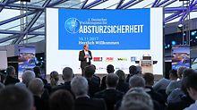Fotografie vom 2. Deutschen Fachkongress für Absturzsicherheit 2017.