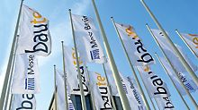 bautec: Mit rund 500 Ausstellern und 35.000 Fachbesuchern zählt sie zu den bedeutensten Baufachmessen Deutschlands.
