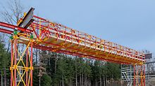 ALPHAKIT is the new construction kit for shoring structures for bridges with spans and heights of up to 25 m.